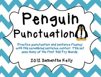 Penguin Punctuation & Sentence Scramble