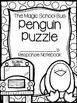 Penguin Puzzle Magic School Bus Book Companion (Chapter Bo