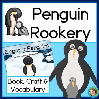 Penguin Rookery: book, craft & vocabulary