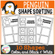 Shape Sorting Mats: Penguin