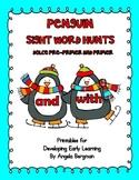 Penguin Sight Word Hunts