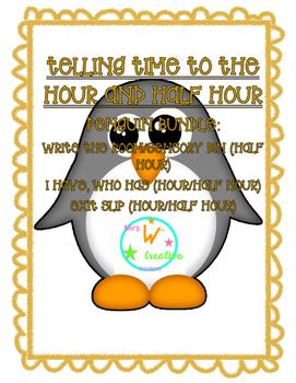 Penguin Telling Time
