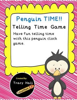 Penguin Telling Time Game