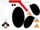 Penguin Template: Color/Black and White
