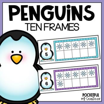 Penguins Ten Frames