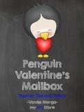 Penguin Valentine Mailbox