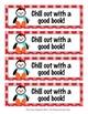 Penguin Winter Theme Bookmarks