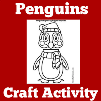 Penguins Activity | Penguins Craft | Penguins Unit | Pengu