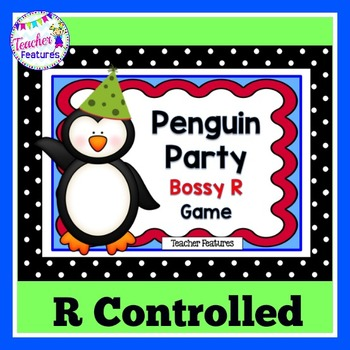 Penguins Literacy Game: Bossy R Controlled