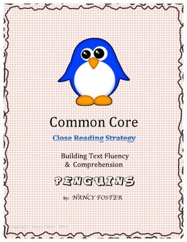 Penguins!  An Informational Reading Strategy to Build Comp