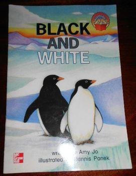 Penguins Animal Book: Black and White 1st Grade McGraw Hil