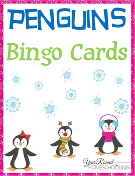 Penguins Bingo Cards