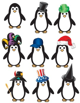 Penguins (Clip Art)