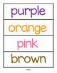 Penguins Color Matching Centers for Preschool