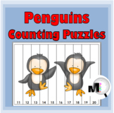 Penguin Math Number Puzzles