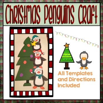 Penguins Hanging Star Project