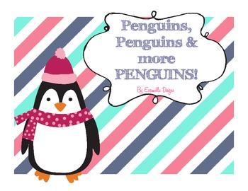 Penguins: Literacy & Math Activities & Tacky the Penguin!!