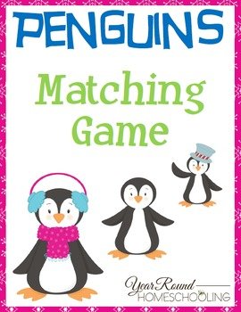 Penguins Matching Game