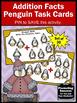 Winter Math Kindergarten Addition Facts Task Cards Activit