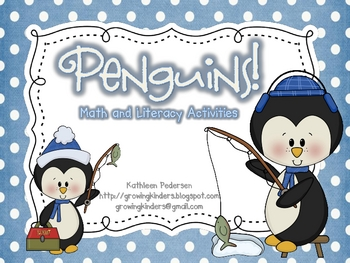Penguins! Math and Literacy Activities