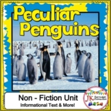 Penguins Non-fiction Unit 1st and 2nd Grade