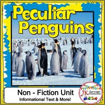 Penguins Non-fiction Unit 1st and 2nd Grade