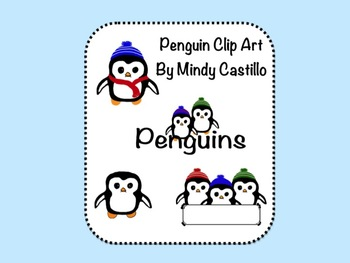Penguins- Clip Art Set