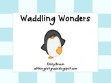 Penguins:  Waddling Wonders