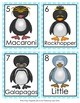 Penguins Winter Write the Room Activity