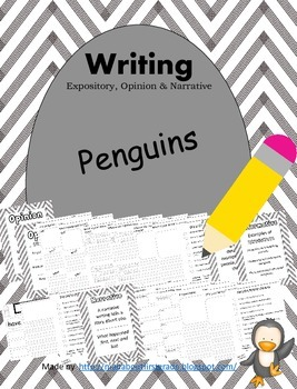 Penguins Writing Informative Opinion Narrative