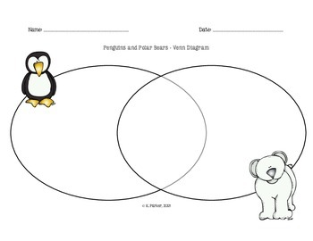 Penguins and Polar Bears Venn Diagram