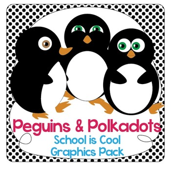 Penguins and Polka Dots: School Decorations and Organizer