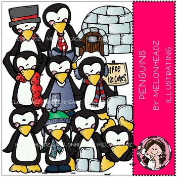 Penguins by Melonheadz COMBO PACK