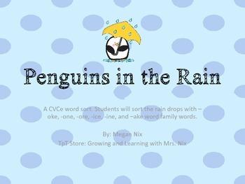 Penguins in the Rain CVCe sort