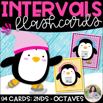 Intervals Flash Cards: Penguintervals!