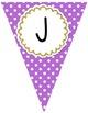 Pennant Banners (Polka Dot Theme)