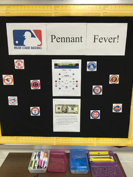 Pennant Fever! World Series Interactive Bulletin Board