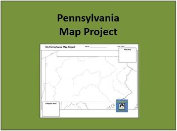 Pennsylvania Map Project