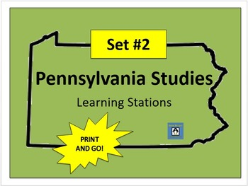 Pennsylvania Social Studies Learning Stations #2