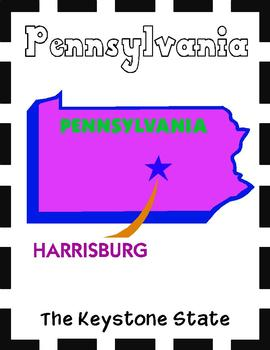 Pennsylvania State Symbols and Research Packet