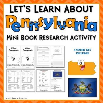 Pennsylvania Webquest Common Core Research Mini Book