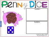 Penny Dice Game for Everyday Math