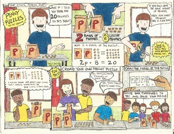 Solving Two-Step Equations Comic