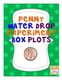 Penny Water Drop Experiment for Data Collection: CCSS 6.SP.4**