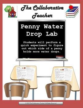 Penny Water Drop Lab