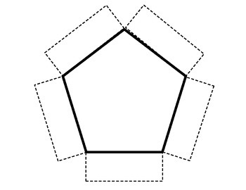 **FREEBIE** Pentagon Foldable Template