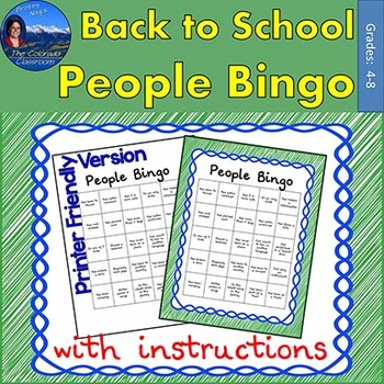 People Bingo - Full Version
