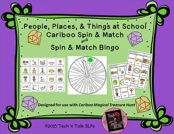 People, Places & Things at School, Cariboo & Spin and Match