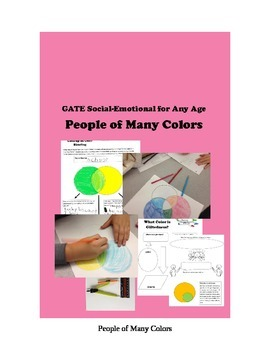 People of Many Colors - GATE Social Emotional Lesson for Any Age