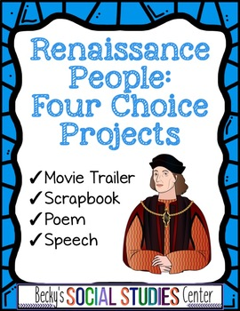 People of the Renaissance Projects - Movie Trailer, Scrapb